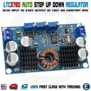 Ltc3780 Dc Synchronous Buck Boost Step Up Down Voltage Current Regulator 130w Us