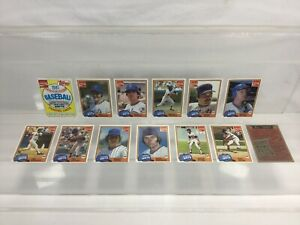 1981 Topps Coca Cola New York Mets 11-card Team Set Youngblood!!