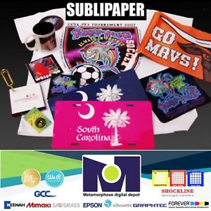 100sh 8 5 x11 Sublimation Paper Iron On Heat Press Transfer Paper Print T shirt