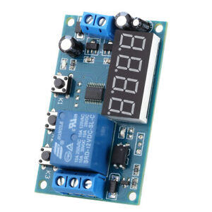 Multifunction Delay Time Module Switch Control Relay Cycle Timer Dc 12v A5z9