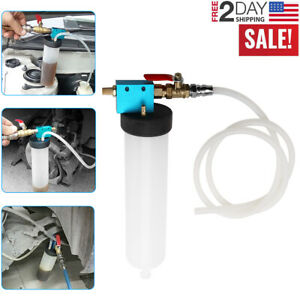 Car Vehicle Vacuum Brake Bleeder Tank Fluid Oil Change Pump Oil Tool Equipment