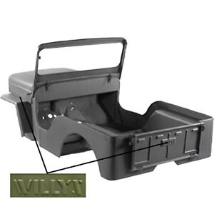Body Tub Omix 12001 20 Fits 42 43 Willys Mb