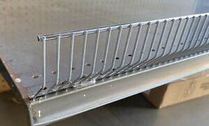 Gondola Shelf Wire Fence 3 5 H X 48 L Lozier Madix Chrome Finish 20 Pieces