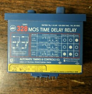 328 Mos Time Delay Relay