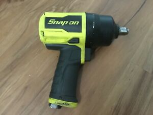 Snap On Pt850hv Pneumatic Air Impact Wrench 1 2 Drive Yellow