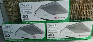 Mead Legal Security Envelopes No 10 White 4 1 8 X 9 1 2 40 Count