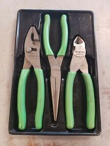 Snap On Tools 3 Piece Pliers And Cutters Set Pl307acfg