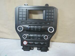 15 16 Ford Mustang Media Equipment Radio Climate Control Oem Fr3t 18e243 bg