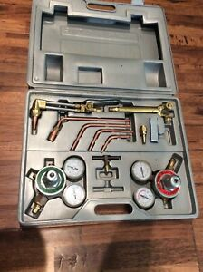 Rand Gas Welding And Cutting Kit Oxygen Torch Set