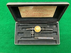 Vintage Starrett No 711 f last Word Dial Test Indicator Original Box Usa