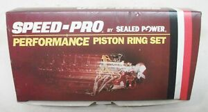429 Ford 030 Overbore Speed Pro Plasma Moly Piston Ring Set Free Shipping