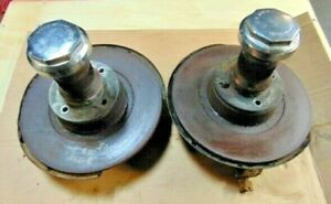 Mgb Mgb Gt Front Suspension W Wire Wheel Hubs Great Mga Upgrade Clean Nice Bus 2