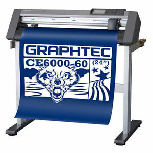 24 Graphtec Ce6000 60 Plus Vinyl Cutter plotter Free Delivery