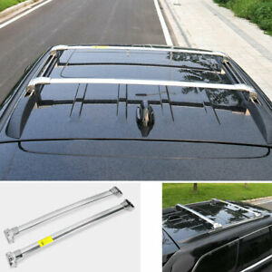 For Jeep Grand Cherokee 2011 2020 Silver Aluminum Top Roof Cargo Rack Cross Bars