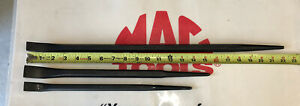 Mac Tools 3pc Straight Line up Pry Bars