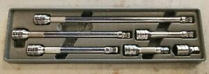 Snap On Tools 6pc Wobble Plus Extension Set 3 8 Drive 206afxwp