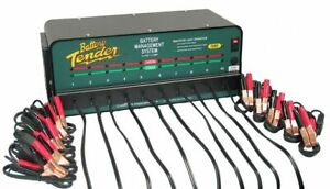 Genuine Oem Battery Tender 10 Bank Charger With Clamps Local Ohio Cincinnati