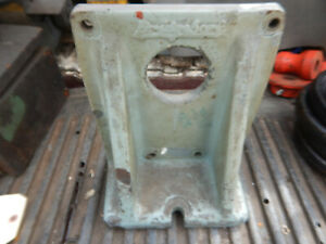 Older Bridgeport Angle Plate For The 12 Rotary Table Machinist Jig Fixture