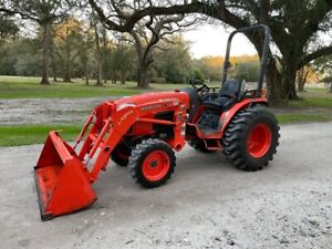 Kubota Kx040 4 Excavator Enclosed A c Cab Angle Blade 2 Speed