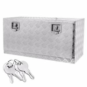 36 X 18 Truck Pickup Underbody Aluminum Tool Box Trailer Storage Bed W Lock