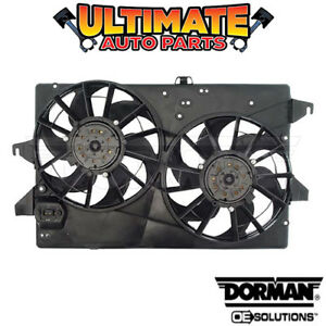 Radiator Cooling Fan dual Fan 2 0l 4 Cylinder For 1998 Ford Contour