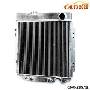 62mm Aluminum Racing Radiator Fit 64 66 Ford Mustang shelby V8 L6 Mt at