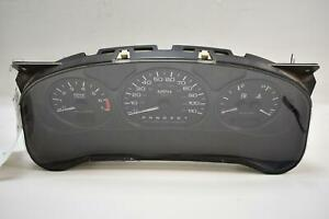 01 03 Olds Silhouette Cluster Speedometer 10306665