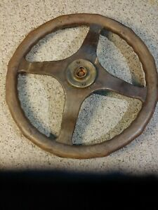 Vintage Sewell All wood Steering Wheel For Fords