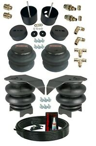 3 8 Front Rear Air Ride Suspension Bag Bracket Mount Kit For 1988 98 Chevy C15