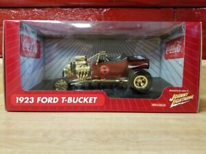 2004 Johnny Lightning - Coca-Cola - 1923 Ford T-Bucket 1:18 Scale