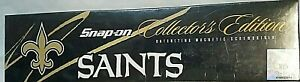 Rare Snap On Nfl Saints Ratcheting Magnetic Screwdriver Collector s Edition Nib
