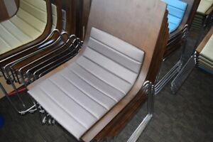 6 Hon Wood Side Chairs Stacking Guest Reception Visitor Lobby Local Pick Up