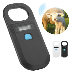 Rfid Pet Dog Animal Microchip Chip Id Reader Usb Handheld Iso Fdx b Tag Scanner