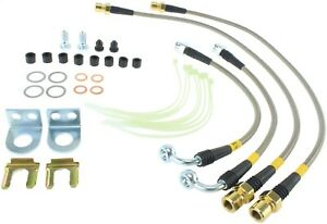 Stoptech 950 61507 Stainless Steel Braided Brake Hose Kit Fits 10 11 F 150
