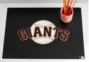 Pottery Barn Teen Mlb San Francisco Giants Desk Mat New