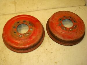 1957 Ford 640 Tractor Brake Drums 600