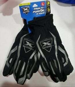 West Chester Large 2 pack Mens Synthetic Leather Mechanics Gloves new