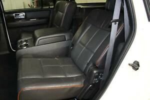 2007 Lincoln Navigator Second 2nd Row Set Black Leather seat Pair Rh Lh Oem