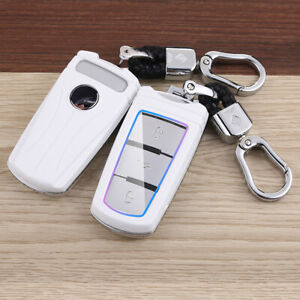 Accessories Car Key Case Cover Key Shell Bag Fob For Volkswagen Vw Cc Passat