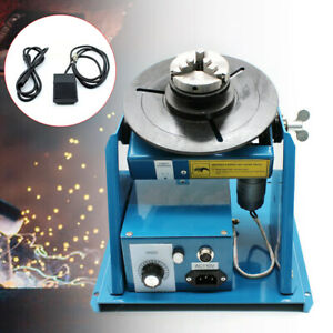 Rotary Welding Positioner Turntable Table Mini 0 90 welding Positioning 2 5