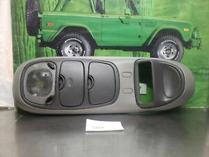 97 98 99 00 01 02 1997 2002 Ford Expedition Overhead Console Gray