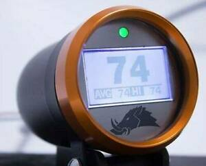Razorback Technology 3 0 Edition Infrared Cvt Belt Temperature Gauge Orange