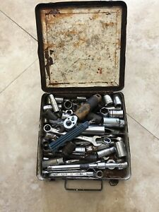 Mechanics Tool Lot Ratchets Sockets And Small Wrenches