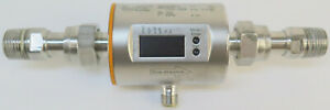 Ifm Electronic Gmbh Sm6004 Magnetic Flow Meter W Adapters 1 2 Mpt