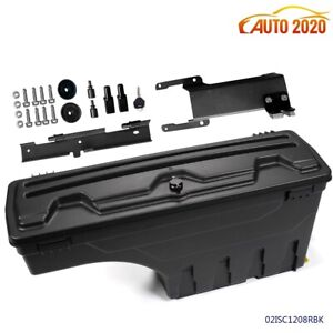 For 15 19 Ford F 150 Pickup Truck Bed Wheel Well Storage Tool Box W lock Right
