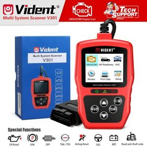 Vident V301 Car Diagnostic Scanner Obd2 Diagnostic Tool For Vw Audi Skoda Seat