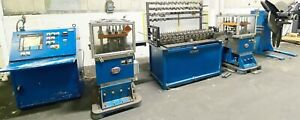 Yoder Lockformer 14 Stand Rollforming Line W Two Flying Cut off Presses Reel