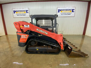 2014 Kubota Svl 75 2 Skid Steer Track Loader With Orops