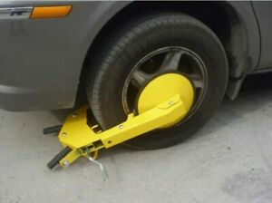 Wheel Lock Clamp Boot Parking Tire Claw Trailer Auto Car Truck Anti Theft