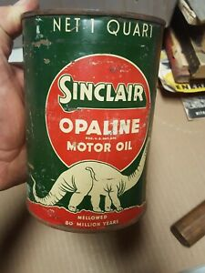 Sinclair Opaline Motor Oil 1 Quart Can Real Deal